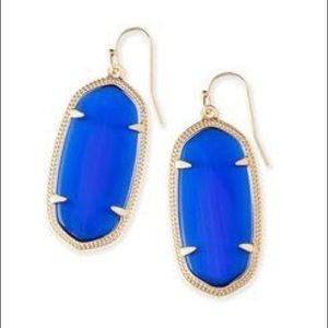 DISCOUNTED SHIPPING!!! Kendra Scott blue Elle's